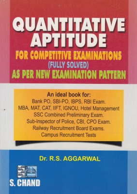 MAT Books RS Agrawal Quantitative Aptitude