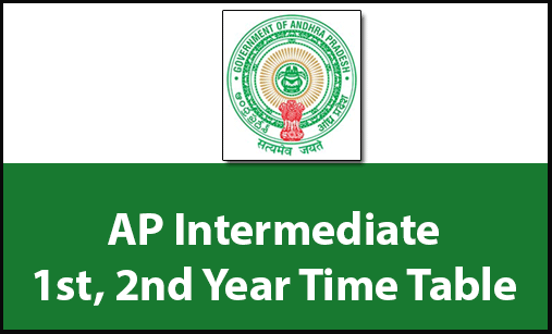 AP Time table Inter