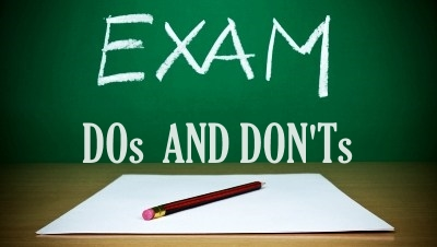 CBSE exam dos and donts