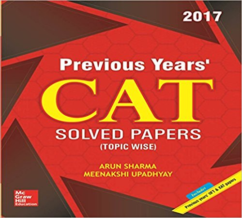 CAT solved papers 2017 McGraw Hill