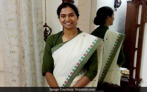 Nandini K R, IRS officer from Karnataka, has bagged the top spot in the Civil Services Exam 2016