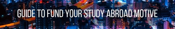 Funding study abroad