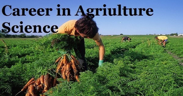 career in agriculture science technology