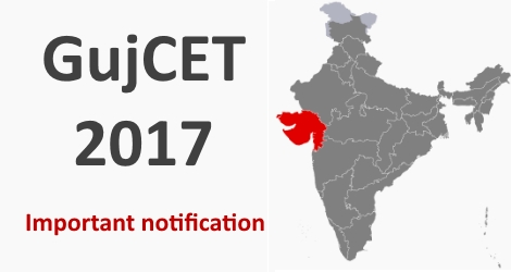 GujCET 2017 Admission in Engg Colleges
