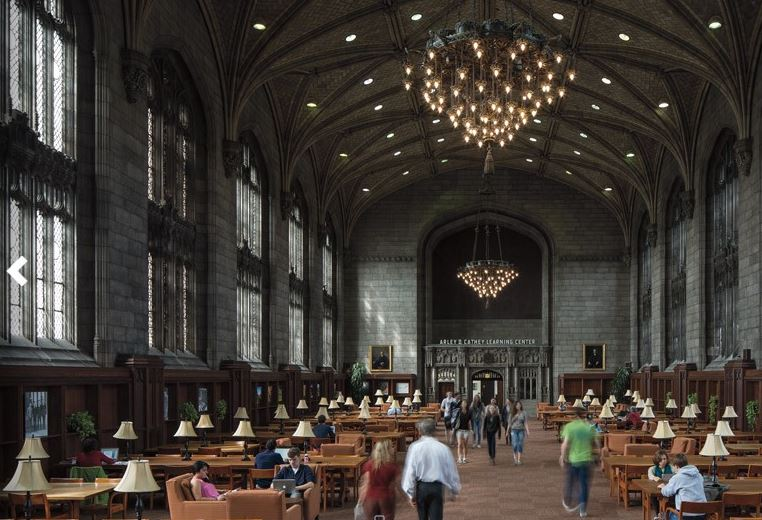 William_Rainey_Harper_Memorial_Library_university_chicago_top_illinois