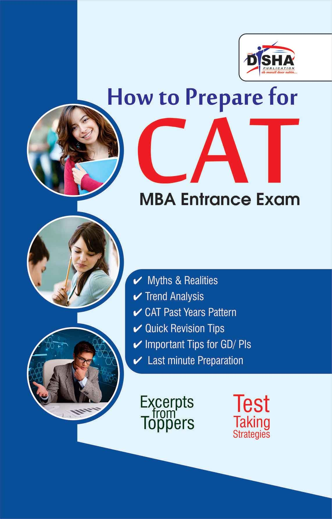 Disha Study Material for MBA Entrance Exams