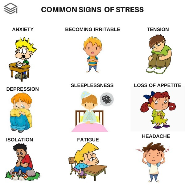Common signs of stress