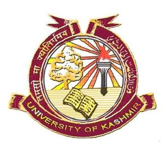 Kashmir University Distance Education
