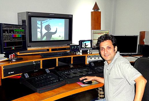 Kireet Khurana, animator and film maker