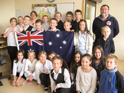 how to become a school teacher in australia