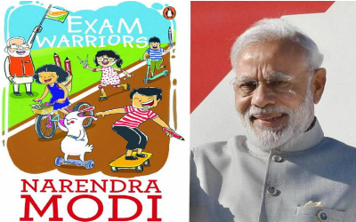 Narendra Modi Authors Book, Exam Warriors