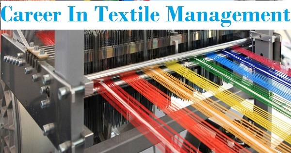 career in textile management