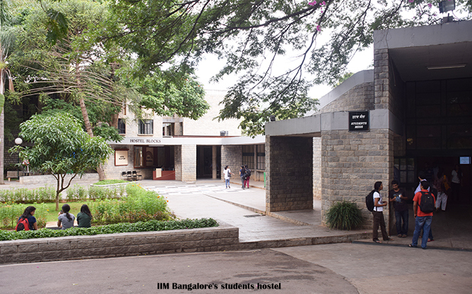 Students hostel IIM Bangalore