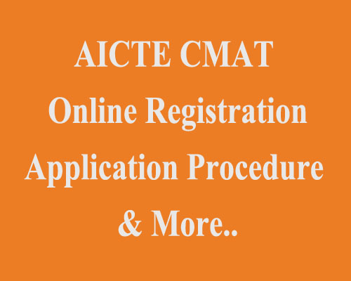 CMAT application procedure