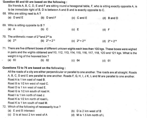 NIMCET Previous Year Question Papers & Solutions