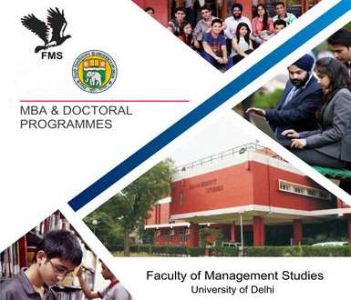 Faculty of Management Studies (FMS) Delhi