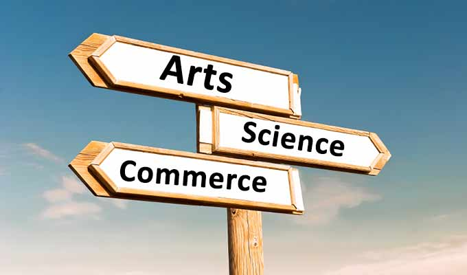 Arts, Commerce or Science