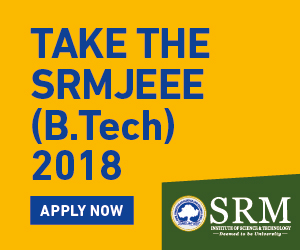 SRMJEE 2018 - Apply Now