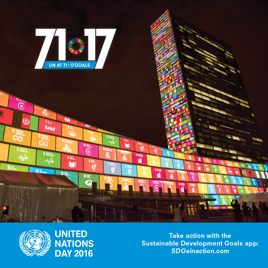 UN day 2017 poster