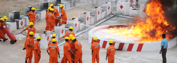Fire engineering prevention safety