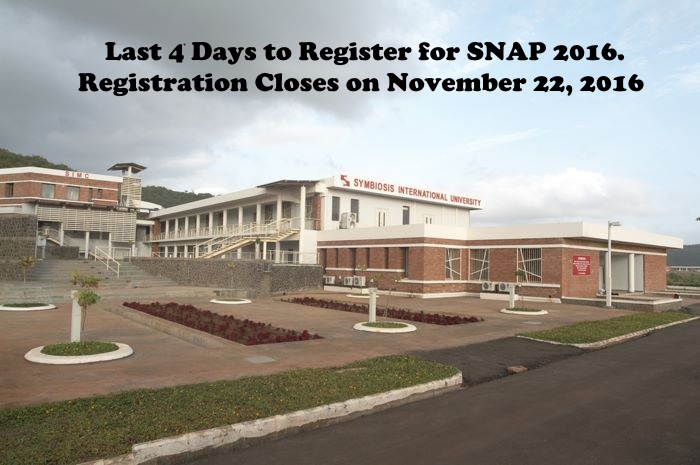 Last 4 days to Register for SNAP 2016