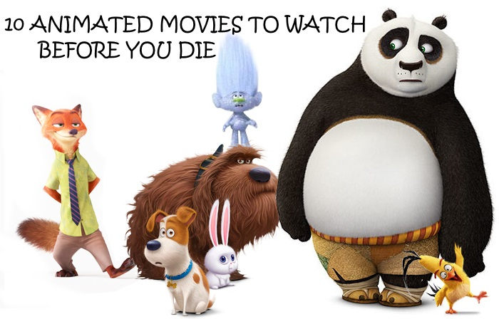 ANIMATED MOVIES BANNER
