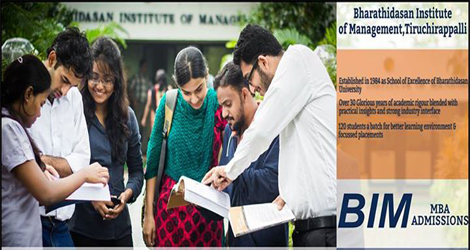 Bharathidasan Institute of Management (BIM), Trichy