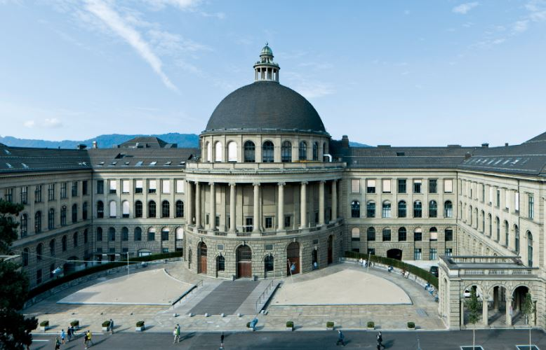 ETH Zurich campus Switzerland