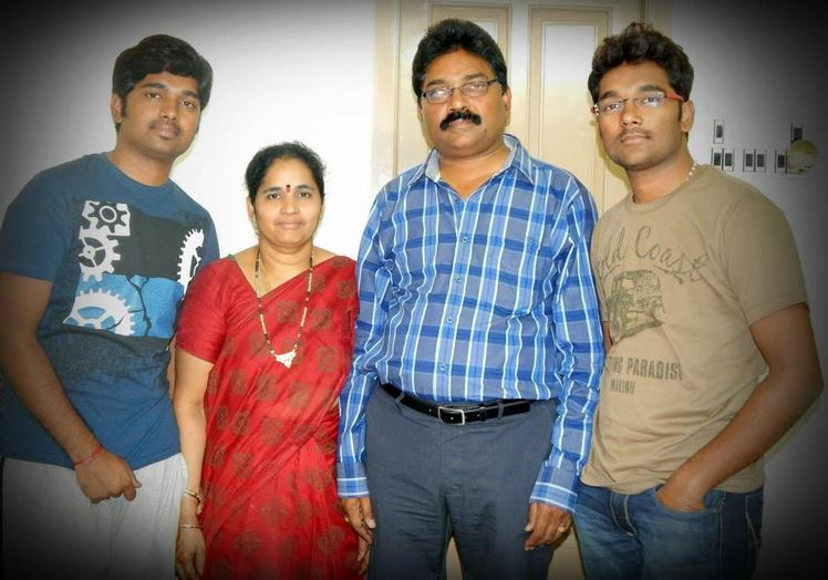 CAT 2013 topper Siva Surya Teja's family