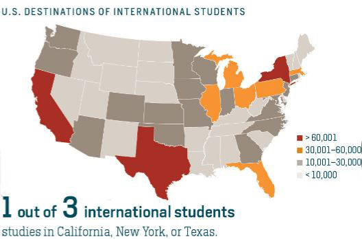 most_popular_states_in_usa_international_students_study_Abroad