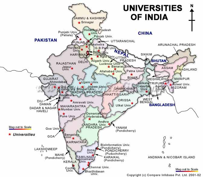 List of Universities in India